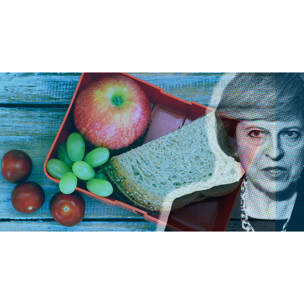 Teresa May - Nasty Party - Lunch Snatcher