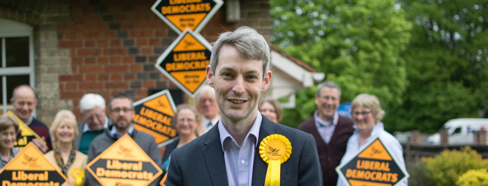 Will Forster GE2017 with supporters