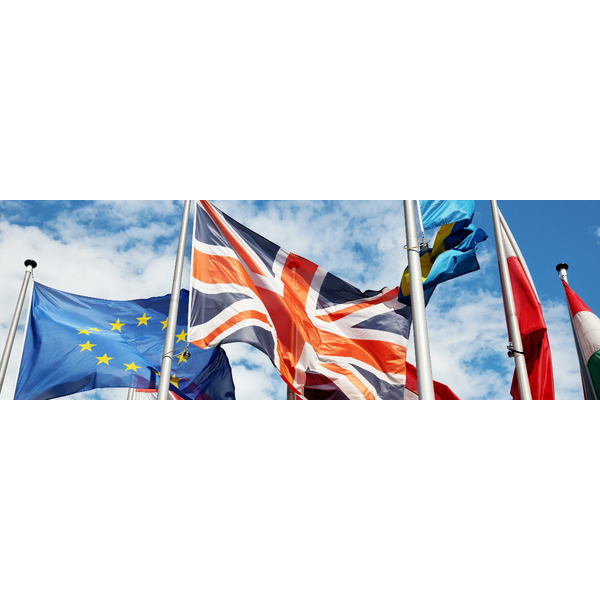 flags, UK, EU
