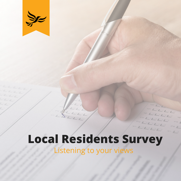 Local resident survey