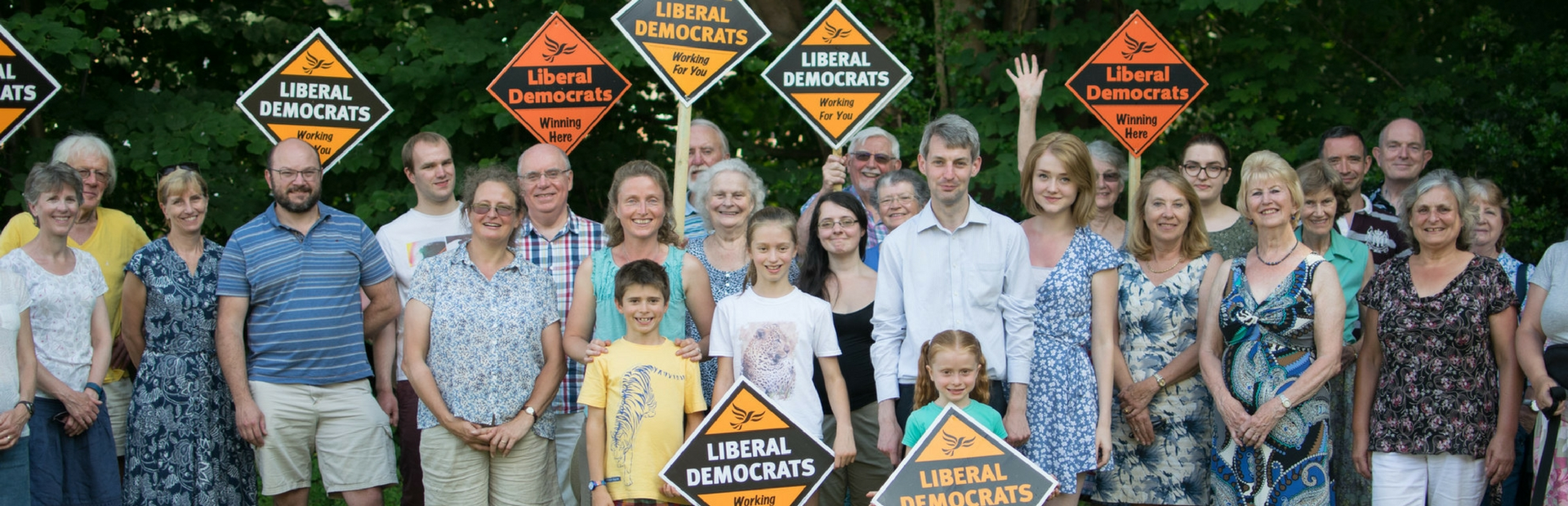 Woking Lib Dems Summer Party