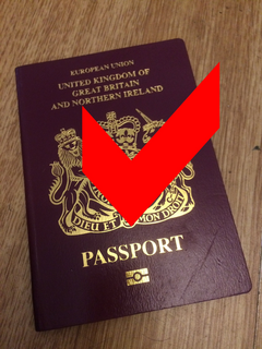 British Passport ok (Woking Lib Dems)