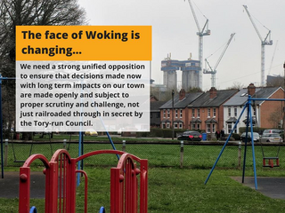 Open Space or Building site? (Woking Lib Dems)