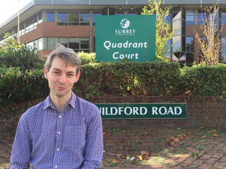 Will Forster Quadrant Court Surrey County Council (Woking Lib Dems)