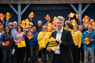 Will Forster and Supporters Sept 2019
