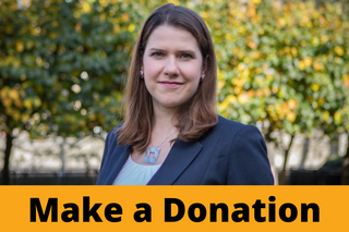 Jo Swinson - Make a Donation Button