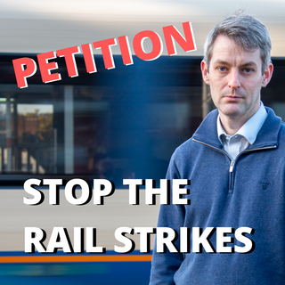 Will Forster - Railway Strike Petition