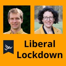 Liberal lockdown podcast logo