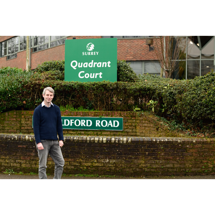 Will Forster outside SCC Quadrant Ct