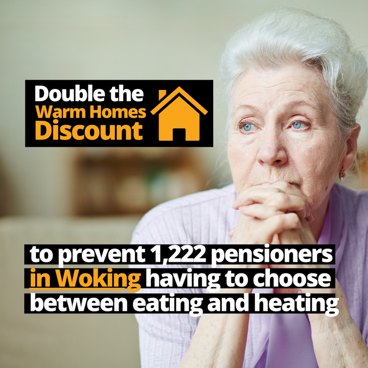 Double Warm Homes Discount - Woking